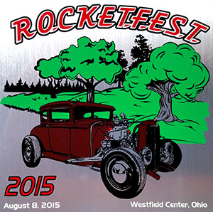 2015 Rocketfest Dash Plaque