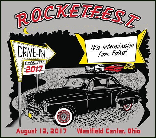 2016 Rocketfest Oldsmobile Car Show