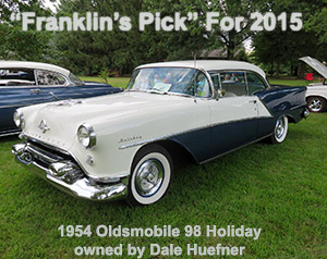 1954 Oldsmobile 98 Holiday